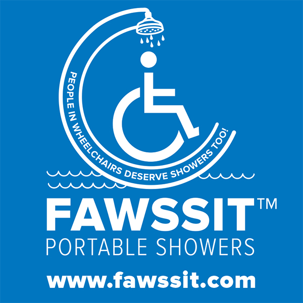 FAWSsit™ Portable Showers